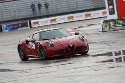 Massimo Macaluso, Alfa Romeo 4C