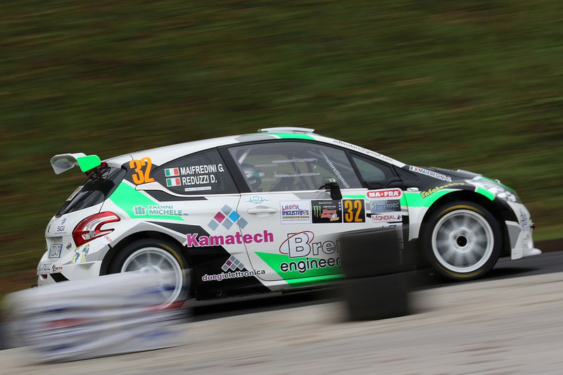 Damiano Reduzzi, Giovanni Maifredini, Peugeot 208 T16