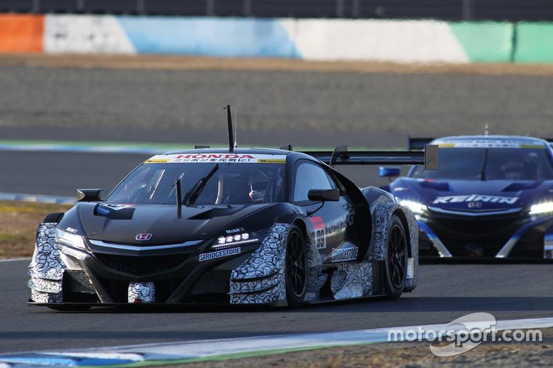 ジェンソン・バトン&ストフェル・バンドーンが乗った99号車NSX-GT