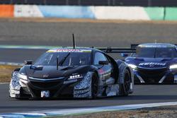 Дженсон Баттон и Стоффель Вандорн на машине №99 NSX-GT