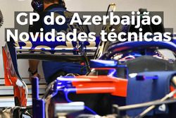 Novidades técnicas do GP do Azerbaijão