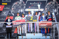 Podium Race 1 Silver cup: Winner #37 3Y Technology BMW M6 GT3: Andrew Watson, Lukas Moraes, second place #31 Team Parker Racing Bentley Continental GT3: Aron Taylor Smith, Joshua Caygill, third palce #35 SMP Racing by Akka ASP Mercedes-AMG GT3: Vladimir Atoev, Alexey Korneev