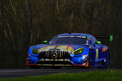#75 SunEnergy1 Racing Mercedes AMG GT3, GTD: Kenny Habul, Maro Engel