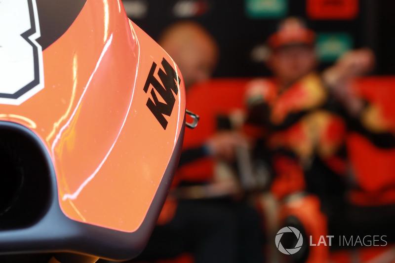 La moto de Bradley Smith, Red Bull KTM Factory Racing