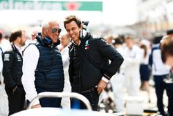 Lawrence Stroll et Toto Wolff