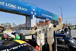 GTLM winnaars Tommy Milner, Oliver Gavin Corvette Racing