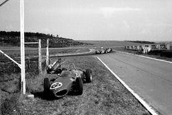 Giancarlo Baghetti, Ferrari 156, Dan Gurney, Porsche 718, Jo Bonnier, Porsche 718