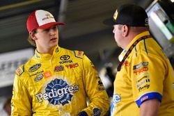 Todd Gilliland, Kyle Busch Motorsports, Toyota Tundra Royal Canin and Marcus Richmond