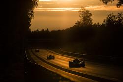 #22 United Autosports Ligier JSP217 Gibson: Philip Hanson, Filipe Albuquerque, Paul di Resta, #32 United Autosports Ligier JSP217 Gibson: Hugo de Sadeleer, Will Owen, Juan Pablo Montoya