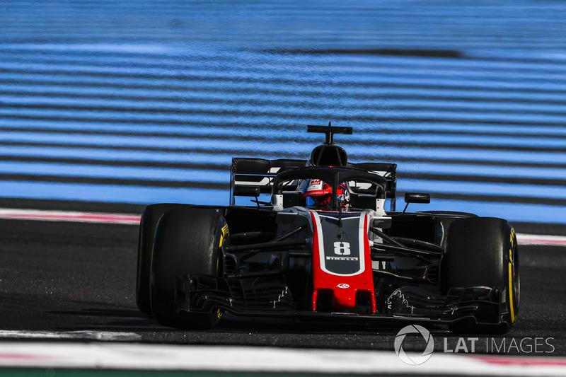 P11: Romain Grosjean, Haas F1 Team VF-18