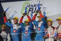 LMP2 podium: winners Julien Canal, Nicolas Prost, Bruno Senna, Vaillante Rebellion