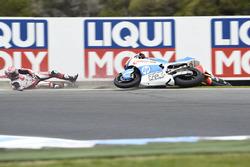 Takaaki Nakagami, Idemitsu Honda Team Asia, Edgar Pons, Pons HP 40 kaza