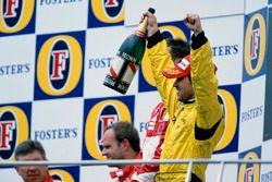 Podium: third place Tiago Monteiro, Jordan Toyota EJ15