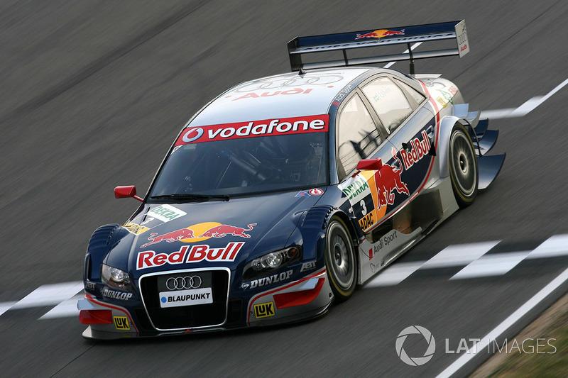 2007 (машина чемпиона и титул конструктора): Audi A4 DTM