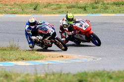 KY Ahamed, TVS Racing and Mathana Kumar, Honda Racing
