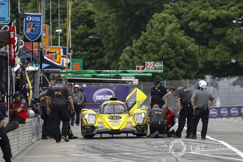 #85 JDC/Miller Motorsports ORECA 07, P: Simon Trummer, Robert Alon