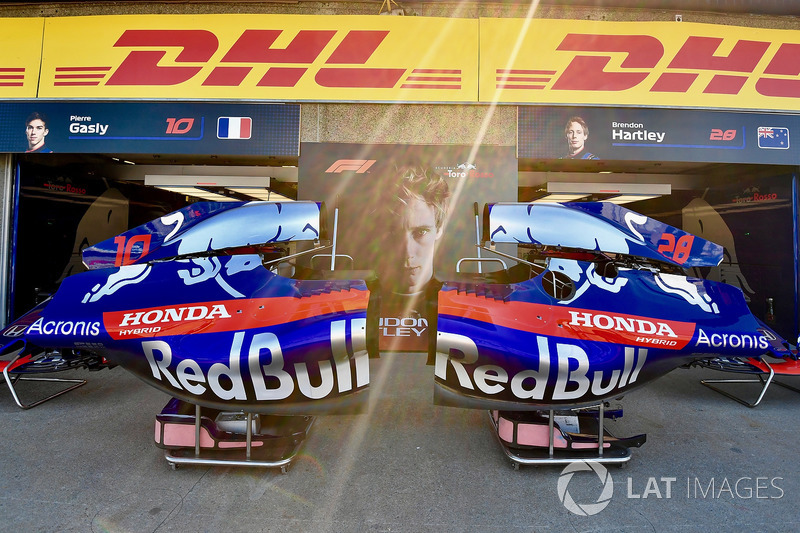 La carrosserie de la Scuderia Toro Rosso STR13