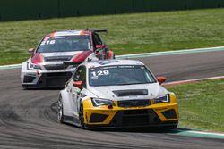Antti Burii, Olli Kangas, Cupra TCR, LMS Racing by Bas Koeten Racing