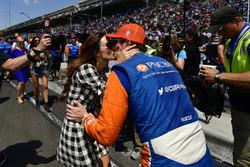 Scott Dixon, Emma Dixon, Chip Ganassi Racing Honda, Pit stop Competition