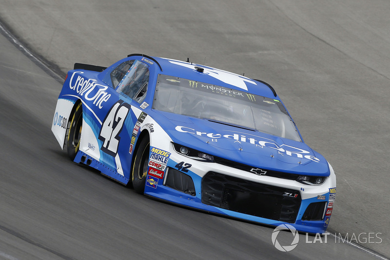 10. Kyle Larson, No. 42 Chip Ganassi Racing Chevrolet Camaro