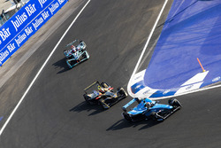 Sébastien Buemi, Renault e.Dams, Jean-Eric Vergne, Techeetah. & Mitch Evans, Jaguar Racing