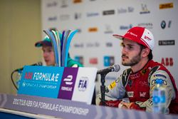 Daniel Abt, Audi Sport ABT Schaeffler, Oliver Turvey, NIO Formula E Team, talk to the media in the p