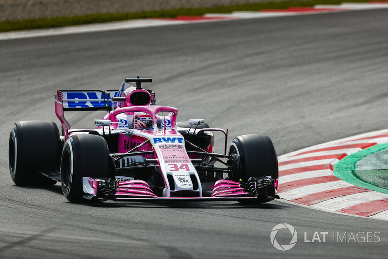 Nikita Mazepin, Force India VJM11 Mercedes
