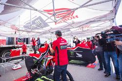 Monster Energy Honda Team tanıtımı