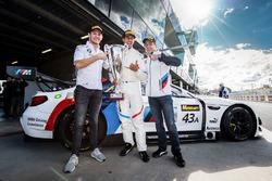 Поул: Аугусту Фарфус, Час Мостер и Марко Виттман, Team Schnitzer BMW