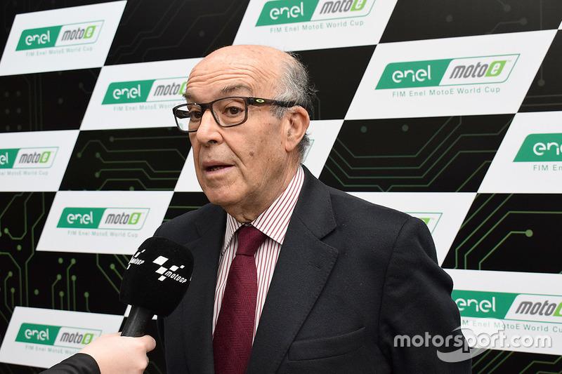Carmelo Ezpeleta, CEO Dorna