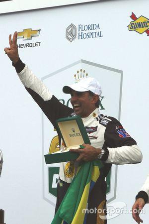 Victory lane, #5 Action Express Racing Cadillac DPi: Christian Fittipaldi