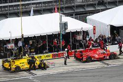 Pitstop, #85 JDC/Miller Motorsports ORECA 07, P: Simon Trummer, Robert Alon, Austin Cindric, Devlin