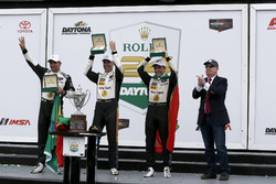 Victory lane, Winners #5 Action Express Racing Cadillac DPi: Joao Barbosa, Filipe Albuquerque, Christian Fittipaldi