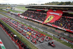 Ferrari in parata al Mugello