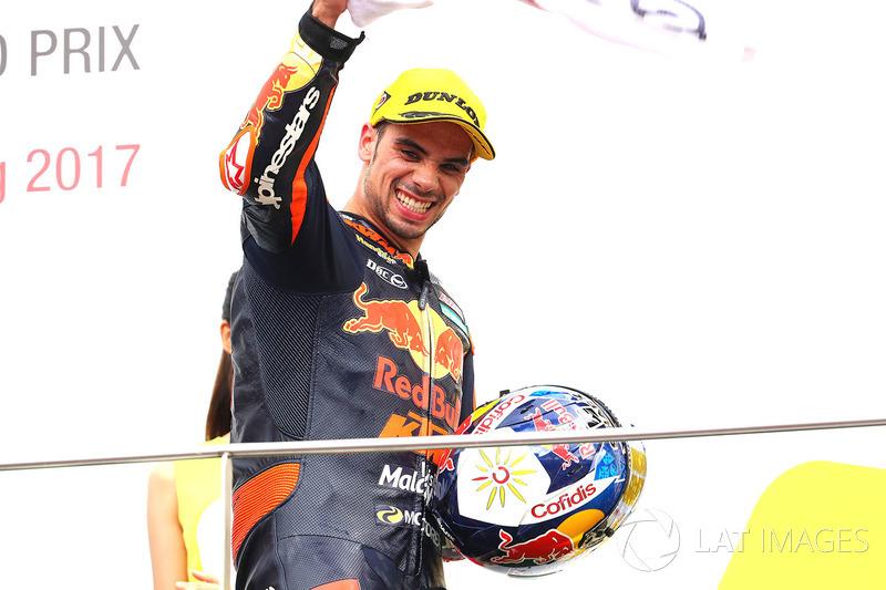 Podium: Ganador, Miguel Oliveira, Red Bull KTM Ajo