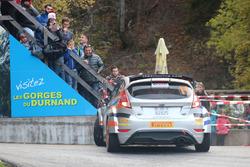 Michael Burri, Anderson Levratti, Ford Fiesta R5, D-Max Swiss, virage en épingle SP12