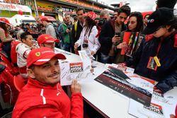 Giancarlo Fisichella at the autograph session