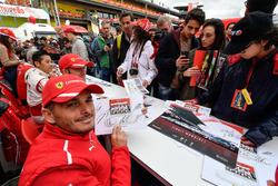 Giancarlo Fisichella at the autograph session