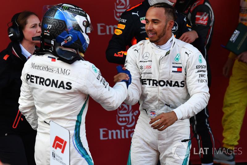 Валттери Боттас финишировал вторым и обеспечил Mercedes 41-й дубль в истории. Это на шесть меньше, чем у McLaren, и на 42 – чем у Ferrari, возглавляющей исторический рейтинг