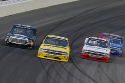 Cody Coughlin, GMS Racing, Chevrolet Silverado Jeg's.com, Josh Reaume, Reaume Brothers Racing, Chevrolet Silverado Colonial Countertops, Johnny Sauter, GMS Racing, Chevrolet Silverado ISM Connect and Stewart Friesen, Halmar Friesen Racing, Chevrolet Silverado We Build America