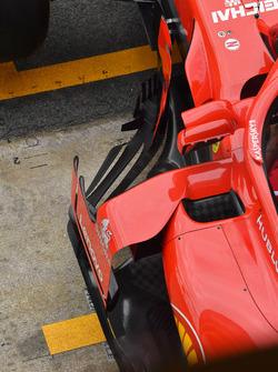 Ferrari SF71H barge board