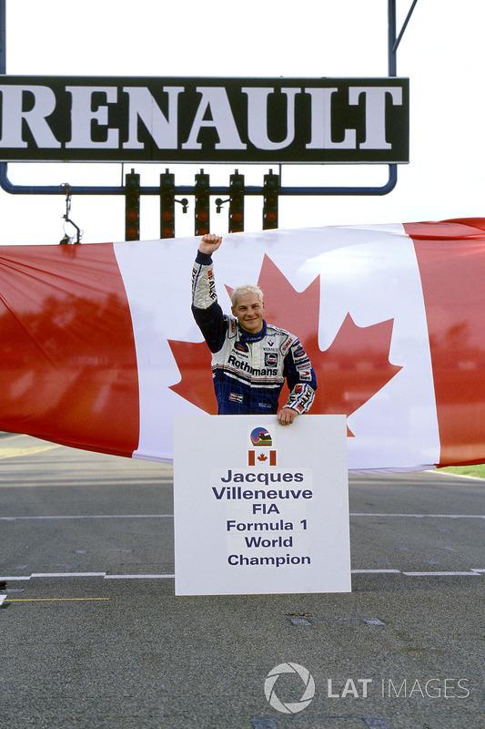 Dünya Şampiyonu Jacques Villeneuve, Williams