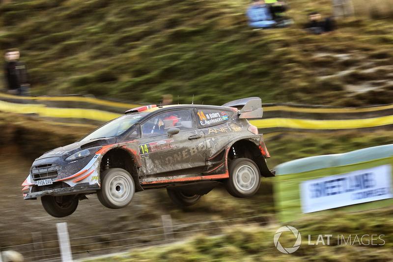 Мадс Остберг и Эмиль Аксельссон, Ford Fiesta WRC