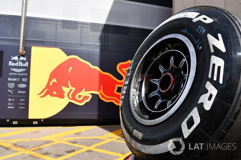 Red Bull Racing Neumático Pirelli