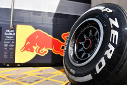 Red Bull Racing Pirelli tyre