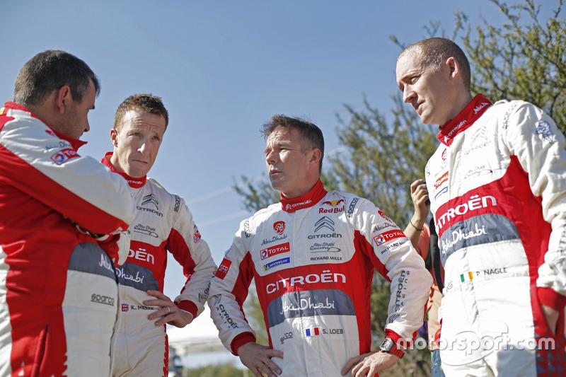 Kris Meeke, Citroën World Rally Team, Sébastien Loeb, Citroën World Rally Team, Paul Nagle, Citroën World Rally Team