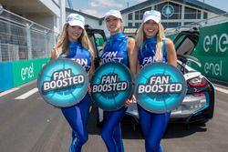 Lovely fan boost girls