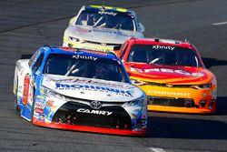 Ryan Preece, Joe Gibbs Racing Toyota, Kyle Larson, Chip Ganassi Racing Chevrolet