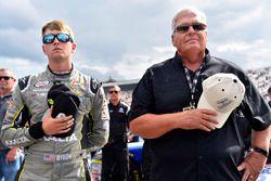William Byron, JR Motorsports Chevrolet and Rick Hendrick