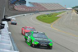 Dakoda Armstrong, JGL Racing Toyota, Harrison Rhodes, JD Motorsports Chevrolet